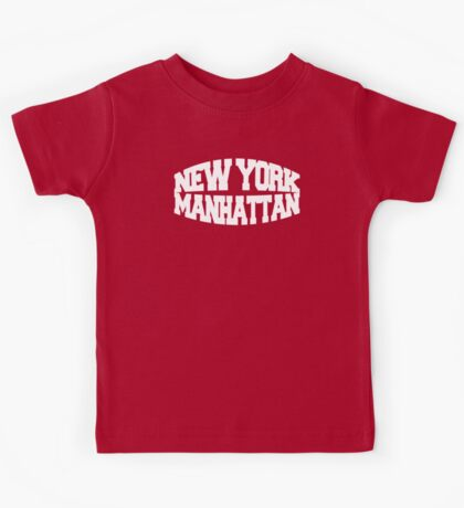 New York Manhattan - white Kids Tee