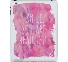 You Are Beautiful Quote iPad Case/Skin