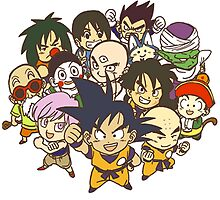 Team Dragon Ball Z by cemolamli