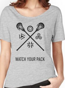 Lacrosse Teen Wolf Women's Relaxed Fit T-Shirt