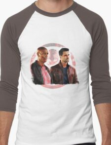 Ward and Kebo Men's Baseball ¾ T-Shirt