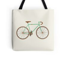 Green Fixie Tote Bag