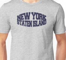 Staten Island - navy Unisex T-Shirt