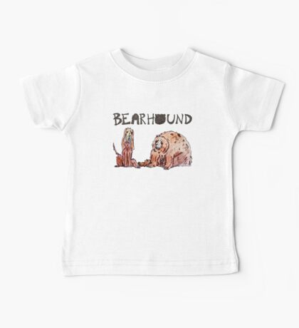Fat Bear and Hound Baby Tee