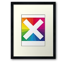 jamie xx in coulour  Framed Print