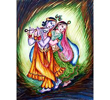 Krishna Leela Photographic Print