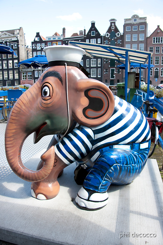 Amsterdam Sailor by phil decocco