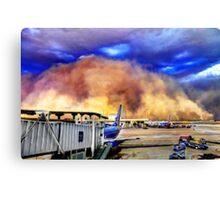 Dust Storm Canvas Print