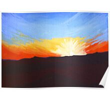 New Mexico Sunset Poster