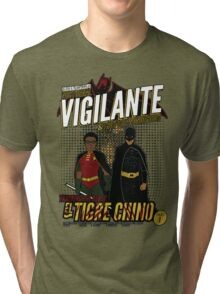 Greendale's Nocturnal Vigilante Tri-blend T-Shirt