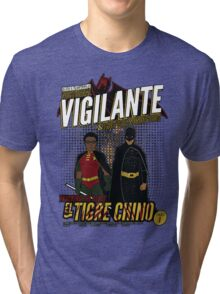 Greendale's Nocturnal Vigilante Tri-blend T-Shirt