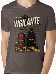 Greendale's Nocturnal Vigilante Mens V-Neck T-Shirt