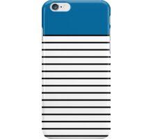 Sailor Blue iPhone Case/Skin