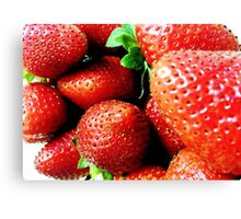 Strawberry Wives Canvas Print
