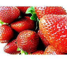 Strawberry Wives Photographic Print
