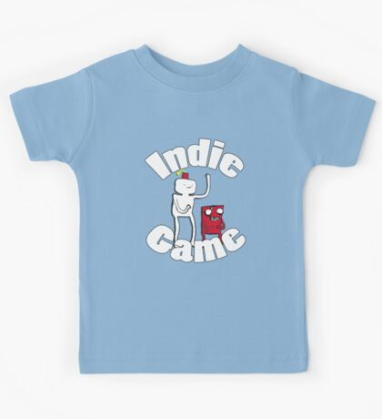 Indie Game with Gomez and Meat! Kids Tee