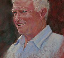 Portrait of Stewart by Lynda Robinson
