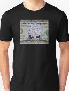 Rick dollar bill Unisex T-Shirt