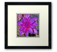 Floral Artistry Framed Print