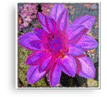 Floral Artistry Metal Print
