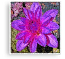 Floral Artistry Canvas Print