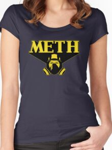 M.E.T.H (Breaking Bad) Women's Fitted Scoop T-Shirt