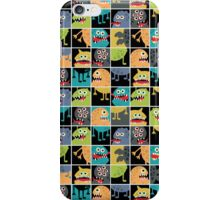 Monster in window. iPhone Case/Skin