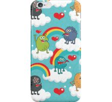 Monsters rainbow. iPhone Case/Skin