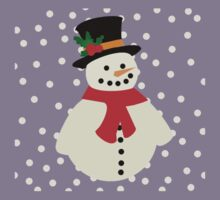 Snowman Kids Tee