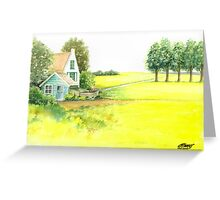 RAPE SEED Greeting Card