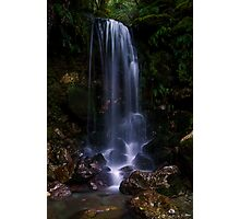 Small roadside waterfall Photographic Print