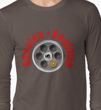 Russian Roulette Tee Shirt Long Sleeve T-Shirt