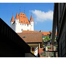 Thun castel - canton Bern - SWiss Photographic Print