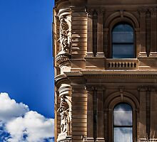 Details of beautiful old building. by ronsphotos