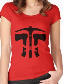 Rust Axe Pickaxe AK  Women's Fitted Scoop T-Shirt