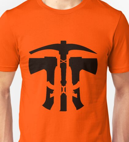 Rust Axe Pickaxe AK  Unisex T-Shirt