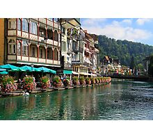 Thun - canton Bern - Swiss Photographic Print