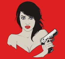The Girl With A Gun by Brittality