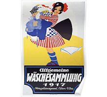 Allgemeine Wäschesammlung 1917 1516 Poster