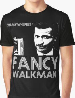 Jimmy Whisper's Fancy Walkman Graphic T-Shirt