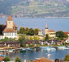 Spiez on Thun lake - Swiss by RAN Yaari