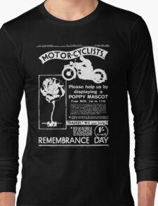 Motor-Cyclists Long Sleeve T-Shirt
