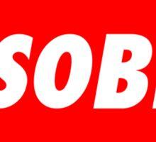 disobey (obey parody) Sticker