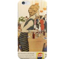 The sociable prefer Pepsi iPhone Case/Skin