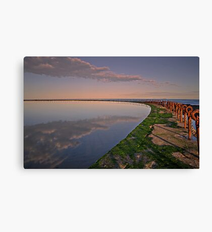 Ring of Rust Canvas Print