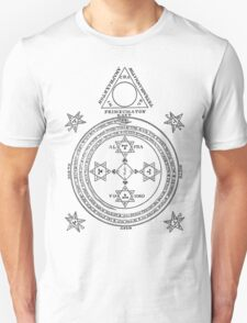 Solomon Circle Goetia Black n White T-Shirt
