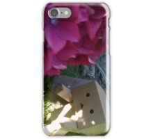 Danbo & flowers iPhone Case/Skin