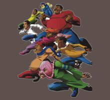 Fat Albert and the Gang Ready for battle by styleuniversal