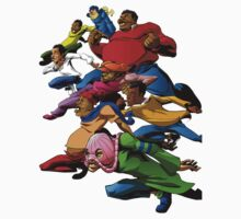 Fat Albert and the Gang Ready for battle Kids Clothes