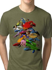 Fat Albert and the Gang Ready for battle Tri-blend T-Shirt